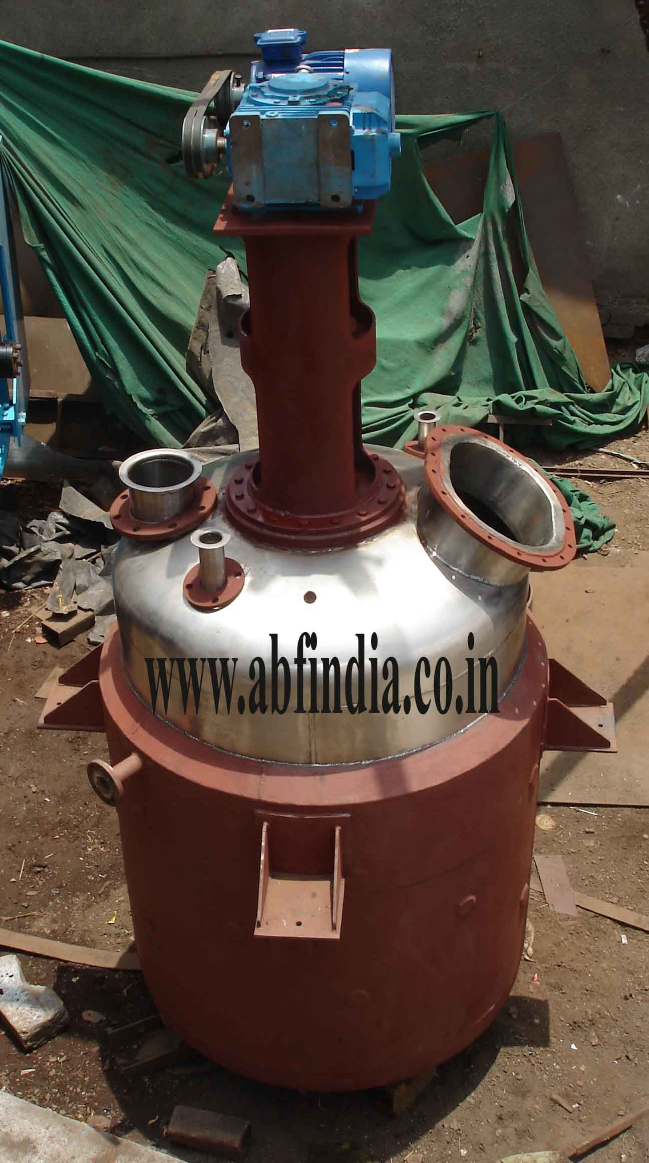 Stainless Steel Jacketed Reaction Vessel