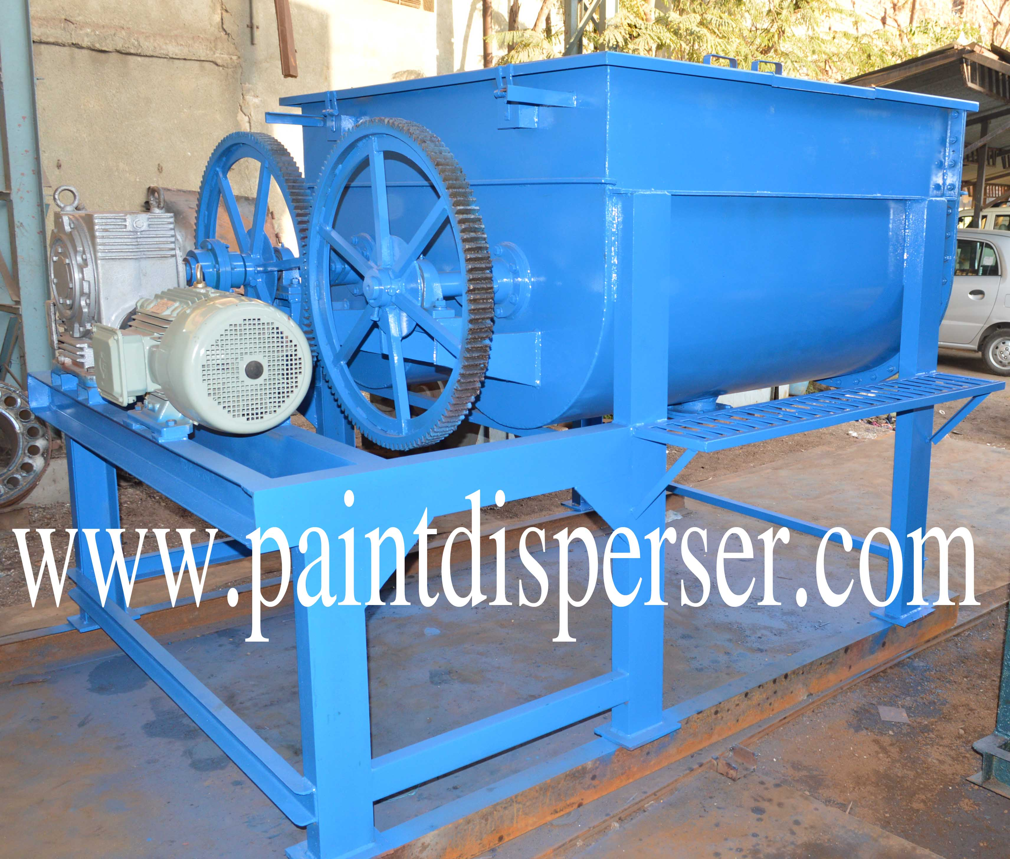 Double Paddle Feed Mixer/Ribbon Mixer for Animal Feed Production